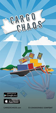 Draft poster for Cargo Chaos
